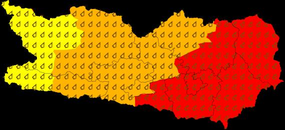 Aktuelle Unwetterwarnungen für Kärnten