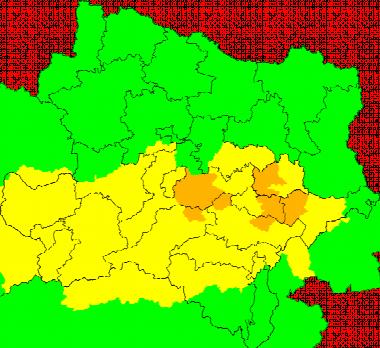 Aktuelle Unwetterwarnungen Niederösterreich